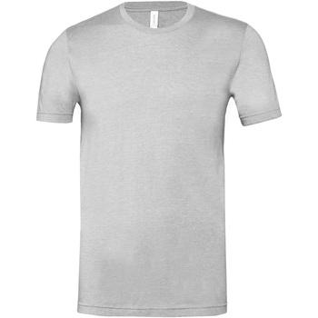 Textiel T-shirts korte mouwen Bella + Canvas CA3001CVC Grijze Heide