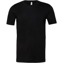 Textiel T-shirts & Polo's Bella + Canvas CA3001CVC Zwarte Heide