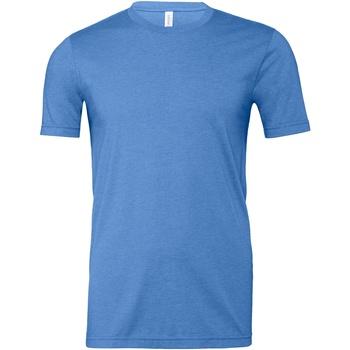 Textiel T-shirts & Polo's Bella + Canvas CA3001CVC Blauw
