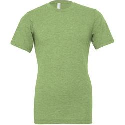 Textiel T-shirts & Polo's Bella + Canvas CA3001CVC Groene heide