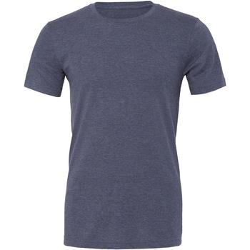 Textiel T-shirts & Polo's Bella + Canvas CA3001CVC Marine Heide
