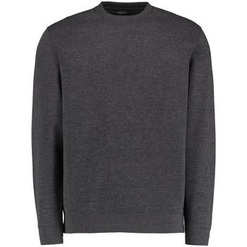 Textiel Heren Sweaters / Sweatshirts Kustom Kit KK334 Donkergrijs