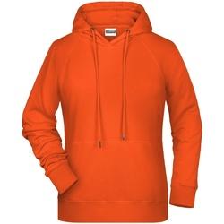 Textiel Dames Sweaters / Sweatshirts James And Nicholson  Oranje