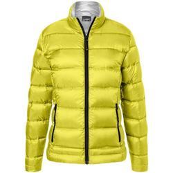 Textiel Dames Jacks / Blazers James And Nicholson  Geel/zilver