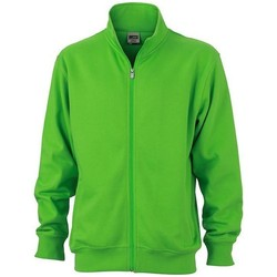 Textiel Jacks / Blazers James And Nicholson  Kalk groen