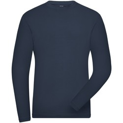 Textiel Heren Sweaters / Sweatshirts James And Nicholson  Marine