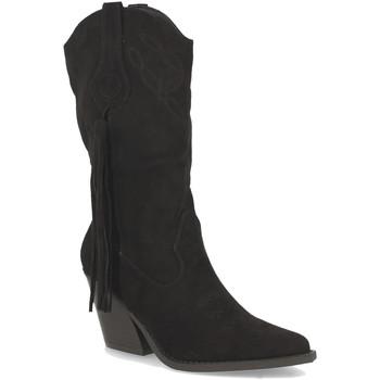 Schoenen Dames Hoge laarzen Buonarotti 2A-1404 Negro