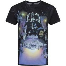 Textiel Heren T-shirts korte mouwen Disney  Veelkleurig