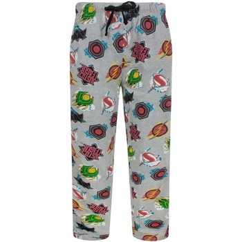 Textiel Heren Pyjama's / nachthemden Justice League  Grijs
