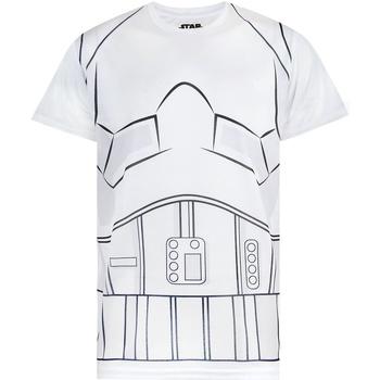 Textiel Heren T-shirts korte mouwen Disney  Wit