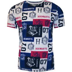 Textiel Heren T-shirts korte mouwen Harry Potter  Veelkleurig