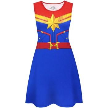 Textiel Dames Korte jurken Captain Marvel  Veelkleurig