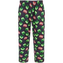 Textiel Heren Pyjama's / nachthemden Minecraft  Zwart