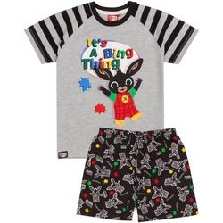 Textiel Jongens Pyjama's / nachthemden Bing Bunny  Grijs/Zwart