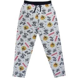 Textiel Heren Pyjama's / nachthemden Harry Potter  Grijs/Zwart