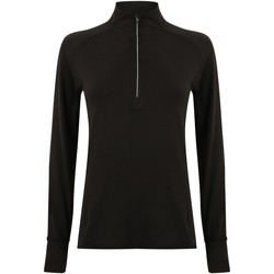 Textiel Dames T-shirts met lange mouwen Tombo TL563 Zwart