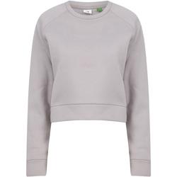 Textiel Dames Sweaters / Sweatshirts Tombo TL533 Lichtgrijs