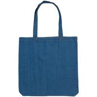 Tassen Dames Schoudertassen met riem Mantis M195 Denim Blauw
