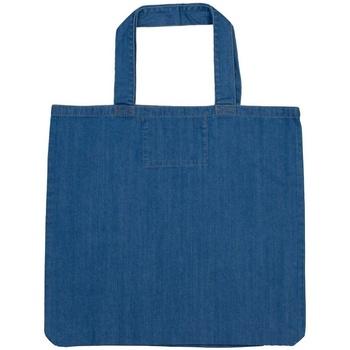 Tassen Tote tassen / Boodschappentassen Mantis M196 Denim Blauw