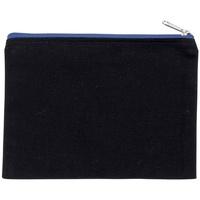 Tassen Portemonnees Kimood KI0721 Zwart/Loyaal Blauw