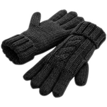Accessoires Handschoenen Beechfield B497 Zwart