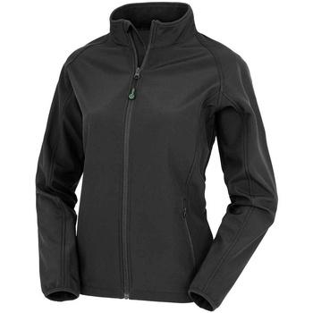 Textiel Dames Jacks / Blazers Result Genuine Recycled RS901F Zwart