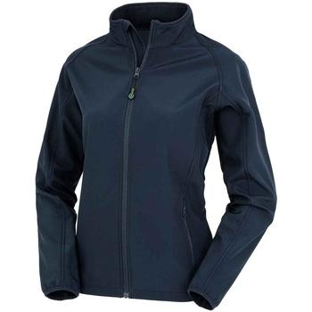 Textiel Dames Jacks / Blazers Result Genuine Recycled RS901F Marine