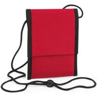 Tassen Jongens Schoudertassen met riem Bagbase BG283 Klassiek rood
