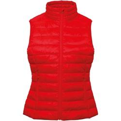 Textiel Dames Vesten / Cardigans 2786 TS31F Rood
