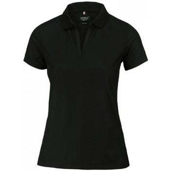 Textiel Dames Polo's korte mouwen Nimbus NB86F Zwart