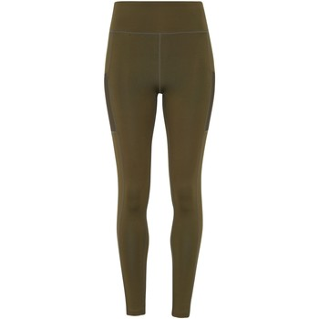 Textiel Dames Leggings Tridri TR304 Olijfgroen