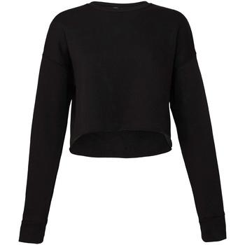 Textiel Dames Sweaters / Sweatshirts Bella + Canvas BE7503 Zwart