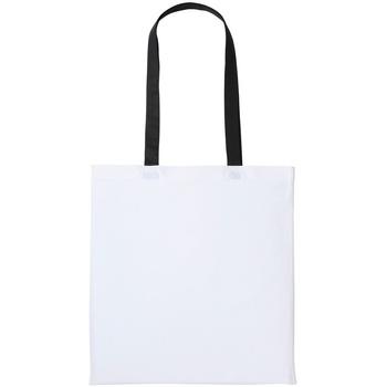 Tassen Tote tassen / Boodschappentassen Nutshell RL150 Wit/zwart