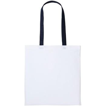 Tassen Tote tassen / Boodschappentassen Nutshell RL150 Witte/Oxfordse marine