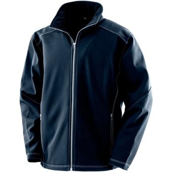Textiel Heren Jacks / Blazers Result R455M Marine