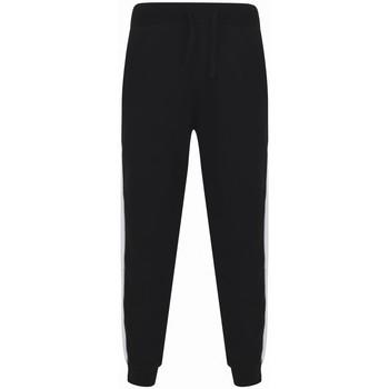 Textiel Trainingsbroeken Sf SF423 Zwart/Wit