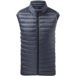 Textiel Heren Vesten / Cardigans 2786 TS038 Marinemelange