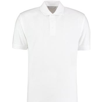Textiel Heren Polo's korte mouwen Kustom Kit KK460 Wit