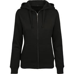 Textiel Dames Sweaters / Sweatshirts Build Your Brand BY088 Zwart