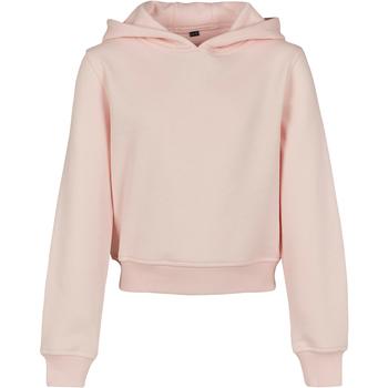 Textiel Meisjes Sweaters / Sweatshirts Build Your Brand BY113 Roze