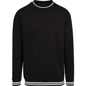 Textiel Heren Sweaters / Sweatshirts Build Your Brand BY104 Zwart/Wit