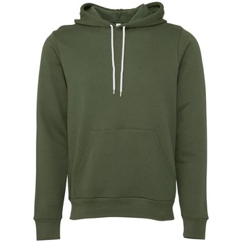 Textiel Sweaters / Sweatshirts Bella + Canvas BE105 Militair Groen