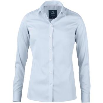 Textiel Dames Overhemden Nimbus N101F Lichtblauw