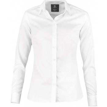 Textiel Dames Overhemden Nimbus N101F Wit