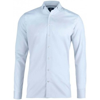 Textiel Heren Overhemden lange mouwen Nimbus N102M Lichtblauw