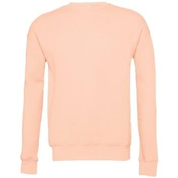 Textiel Sweaters / Sweatshirts Bella + Canvas BE045 Perzik