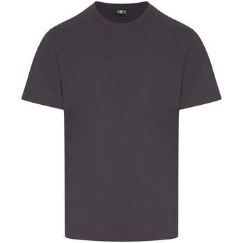 Textiel Heren T-shirts korte mouwen Pro Rtx  Massief Grijs