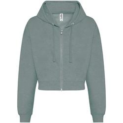 Textiel Dames Sweaters / Sweatshirts Awdis  Stoffig groen