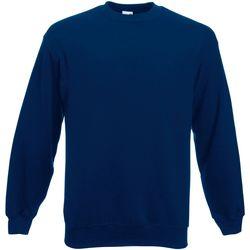 Textiel Heren Sweaters / Sweatshirts Fruit Of The Loom  Marine