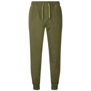 Textiel Heren Trainingsbroeken Asquith & Fox AQ055 Olijf